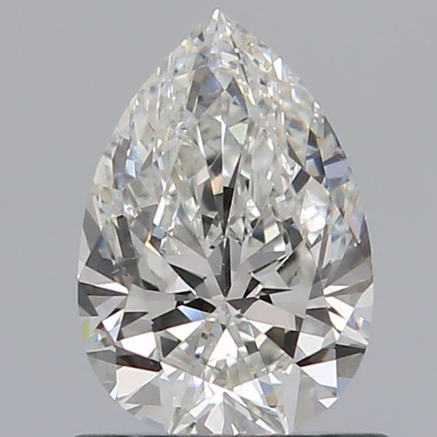 0.70 Carat Pear Loose Diamond, H, SI1, Super Ideal, GIA Certified