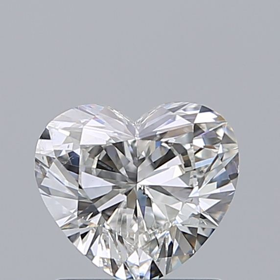 0.96 Carat Heart Loose Diamond, H, SI2, Ideal, GIA Certified