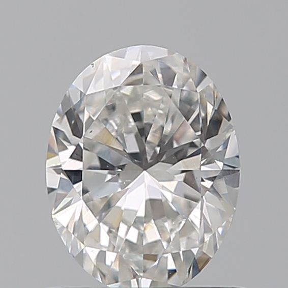 0.70 Carat Oval Loose Diamond, F, VS2, Excellent, GIA Certified