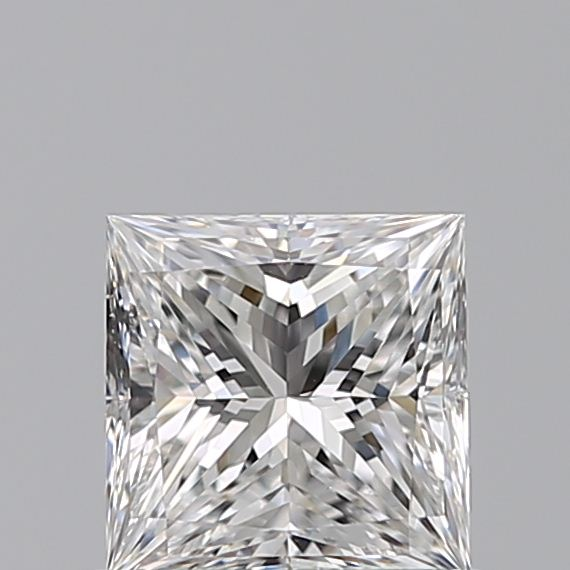 0.61 Carat Princess Loose Diamond, E, VS2, Super Ideal, GIA Certified