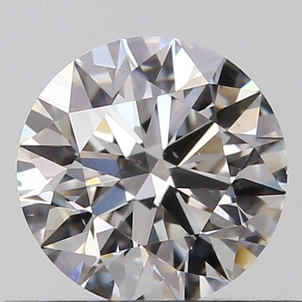 0.40 Carat Round Loose Diamond, F, VS2, Super Ideal, GIA Certified