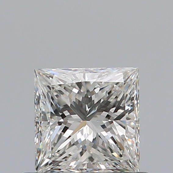 0.50 Carat Princess Loose Diamond, I, VS1, Ideal, GIA Certified | Thumbnail
