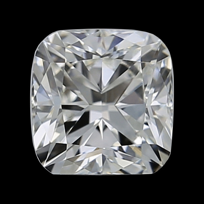 0.80 Carat Cushion Loose Diamond, F, VVS1, Ideal, GIA Certified