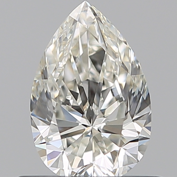 0.50 Carat Pear Loose Diamond, J, VVS1, Super Ideal, GIA Certified
