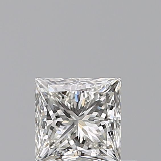 0.40 Carat Princess Loose Diamond, H, VS1, Super Ideal, GIA Certified