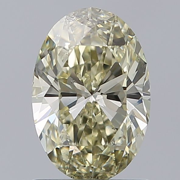 1.00 Carat Oval Loose Diamond, W-X, SI2, Ideal, GIA Certified