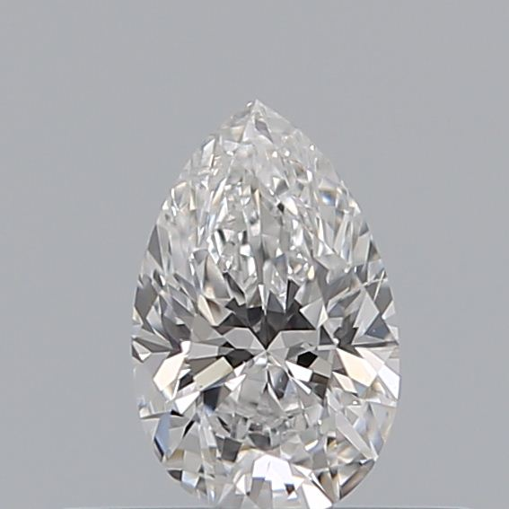 0.30 Carat Pear Loose Diamond, D, SI2, Ideal, GIA Certified | Thumbnail