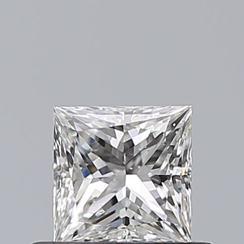 0.46 Carat Princess Loose Diamond, F, SI1, Ideal, GIA Certified