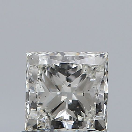 0.90 Carat Princess Loose Diamond, J, SI2, Ideal, GIA Certified