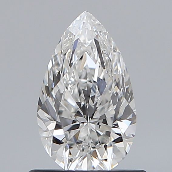 0.70 Carat Pear Loose Diamond, E, VS2, Excellent, GIA Certified