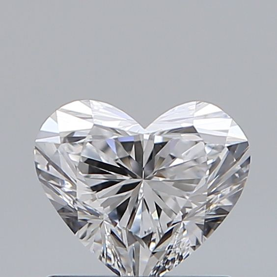 0.75 Carat Heart Loose Diamond, D, VS2, Super Ideal, GIA Certified | Thumbnail