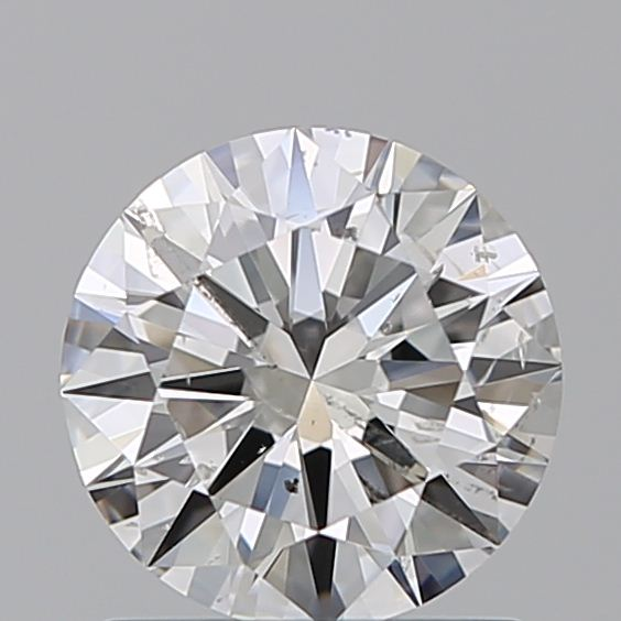 1.00 Carat Round Loose Diamond, G, SI2, Ideal, GIA Certified