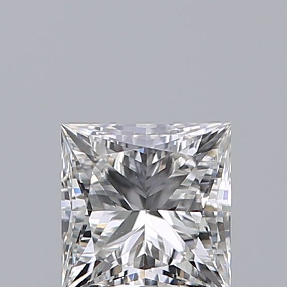 0.46 Carat Princess Loose Diamond, F, VVS2, Ideal, GIA Certified