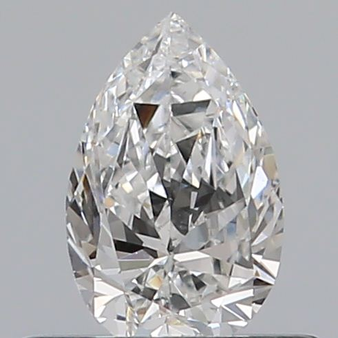 0.37 Carat Pear Loose Diamond, E, VS1, Excellent, GIA Certified