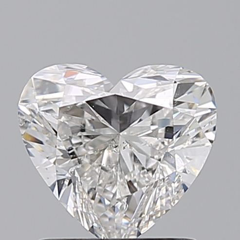 1.01 Carat Heart Loose Diamond, G, SI2, Super Ideal, GIA Certified