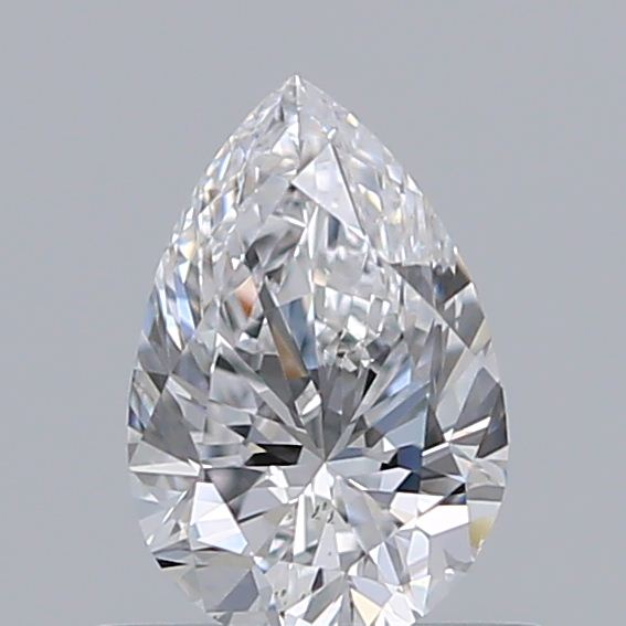 0.50 Carat Pear Loose Diamond, D, VS2, Excellent, GIA Certified | Thumbnail