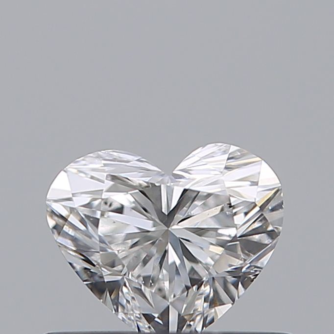 0.40 Carat Heart Loose Diamond, E, VS2, Super Ideal, GIA Certified