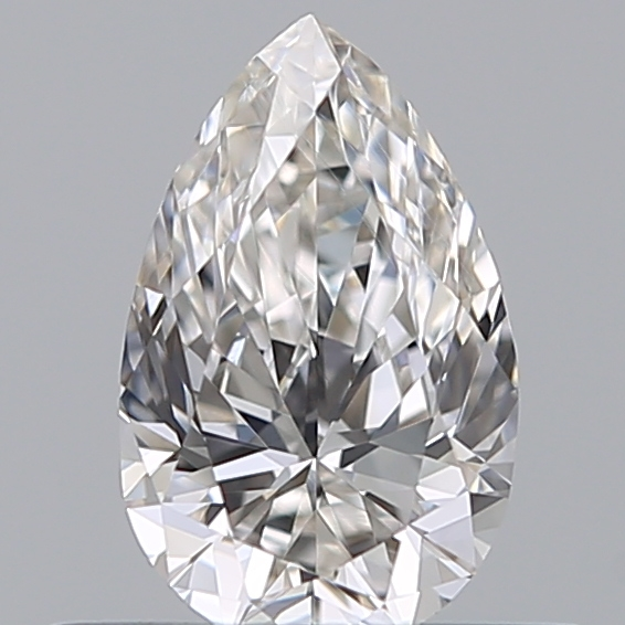 0.35 Carat Pear Loose Diamond, G, VVS1, Super Ideal, GIA Certified