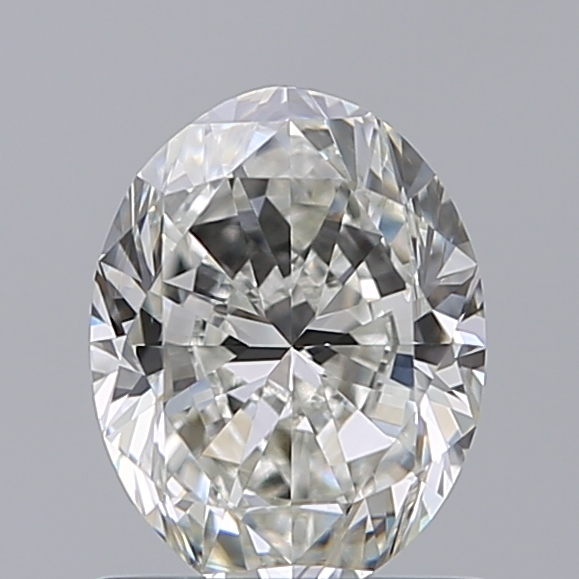 1.00 Carat Oval Loose Diamond, I, VS2, Excellent, GIA Certified