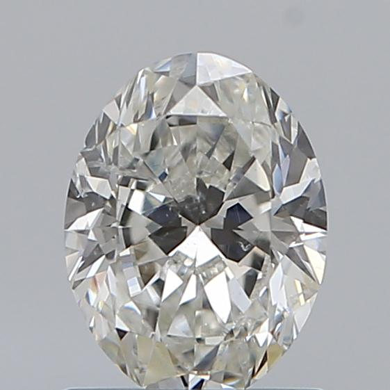 0.90 Carat Oval Loose Diamond, I, SI2, Ideal, GIA Certified