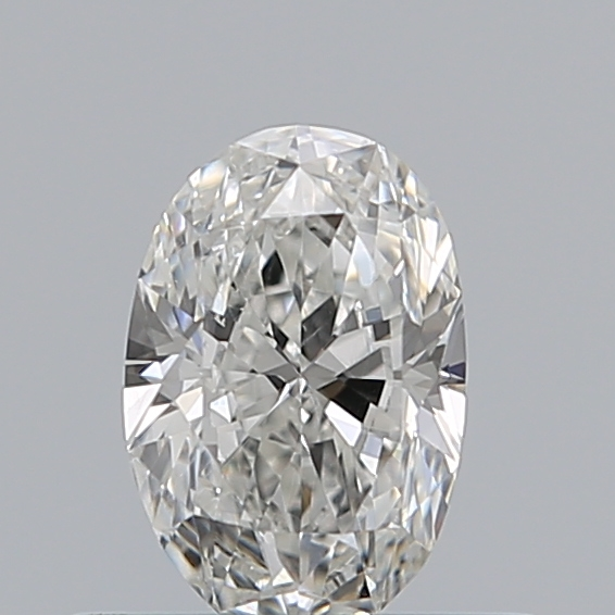 0.40 Carat Oval Loose Diamond, F, SI1, Excellent, GIA Certified