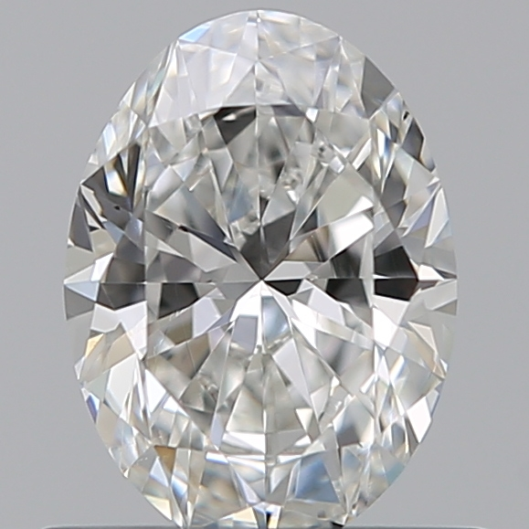 0.54 Carat Oval Loose Diamond, G, VS2, Super Ideal, GIA Certified