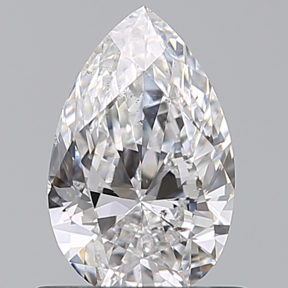 0.70 Carat Pear Loose Diamond, D, SI1, Excellent, GIA Certified