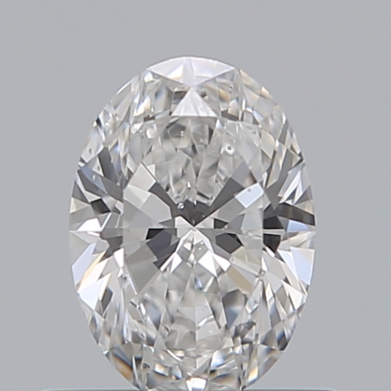 0.50 Carat Oval Loose Diamond, E, SI1, Ideal, GIA Certified