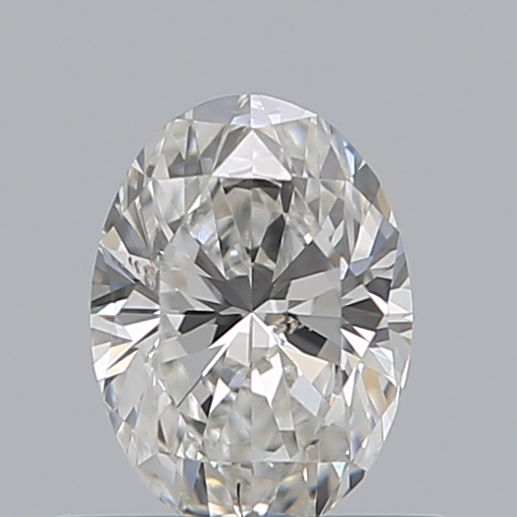 0.50 Carat Oval Loose Diamond, F, SI1, Excellent, GIA Certified