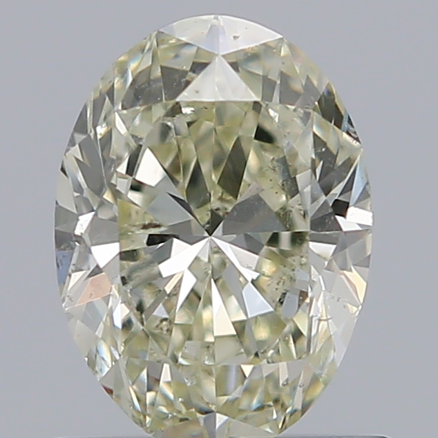 0.70 Carat Oval Loose Diamond, N, SI2, Ideal, GIA Certified