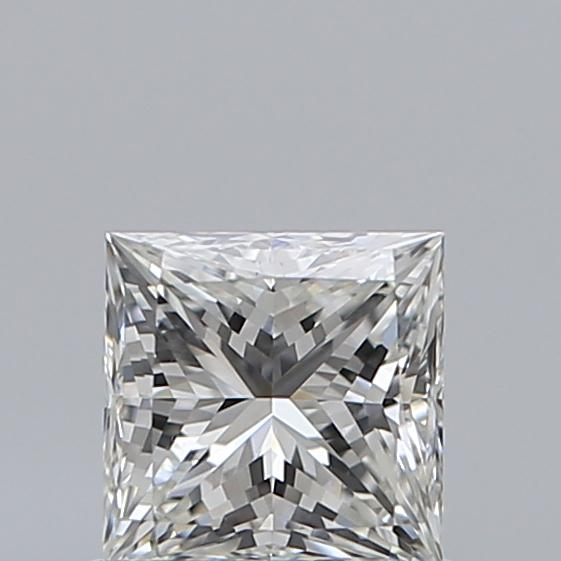 0.72 Carat Princess Loose Diamond, I, VS2, Super Ideal, GIA Certified