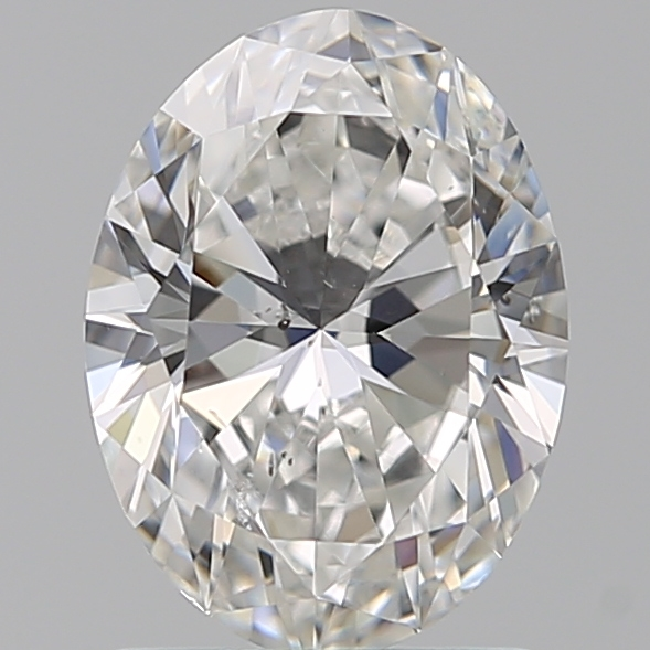 1.29 Carat Oval Loose Diamond, F, SI1, Super Ideal, GIA Certified | Thumbnail