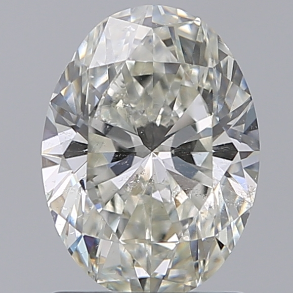1.29 Carat Oval Loose Diamond, I, SI2, Super Ideal, GIA Certified