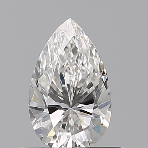0.43 Carat Pear Loose Diamond, F, VS2, Excellent, GIA Certified