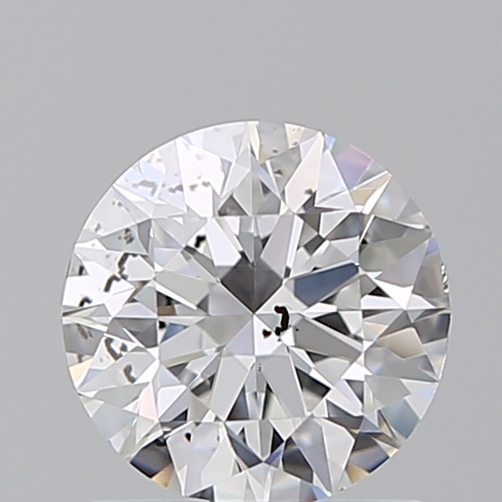 0.96 Carat Round Loose Diamond, D, SI2, Ideal, GIA Certified