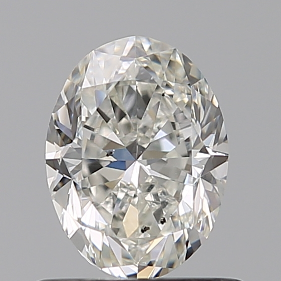 0.70 Carat Oval Loose Diamond, H, SI1, Excellent, GIA Certified