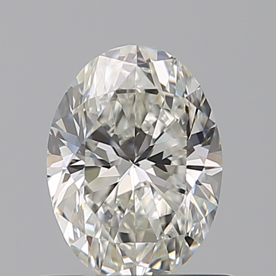 0.59 Carat Oval Loose Diamond, H, VS1, Ideal, GIA Certified | Thumbnail