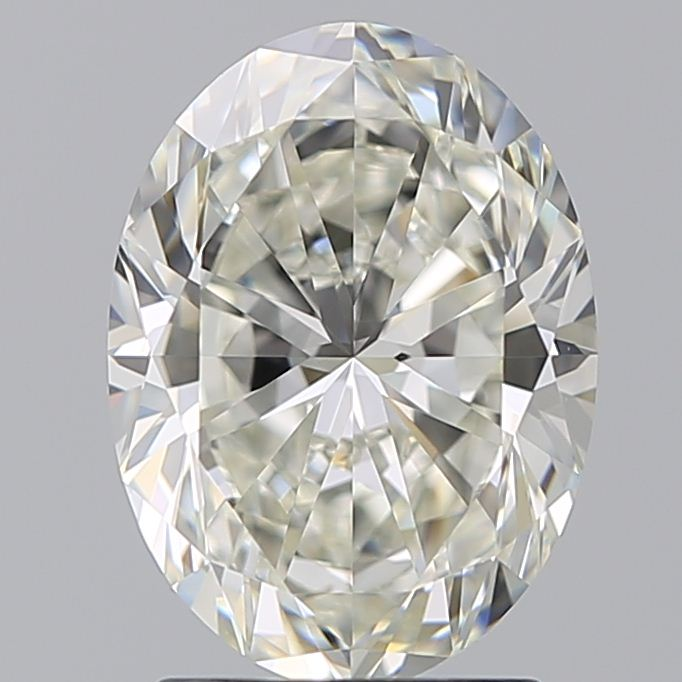 2.02 Carat Oval Loose Diamond, J, VS1, Super Ideal, GIA Certified