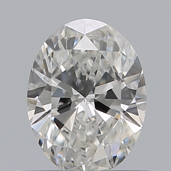 0.50 Carat Oval Loose Diamond, G, VS1, Ideal, GIA Certified