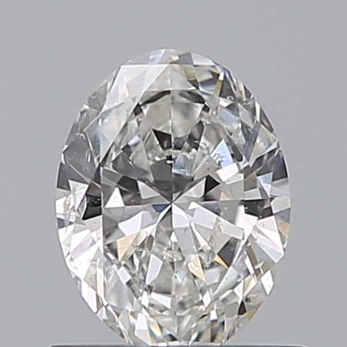 0.57 Carat Oval Loose Diamond, F, SI2, Ideal, GIA Certified