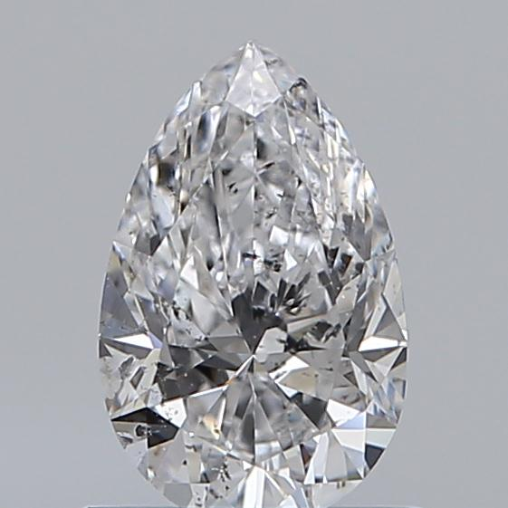 0.70 Carat Pear Loose Diamond, D, SI2, Ideal, GIA Certified