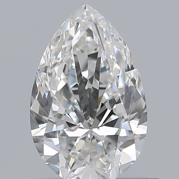0.50 Carat Pear Loose Diamond, G, SI2, Super Ideal, GIA Certified