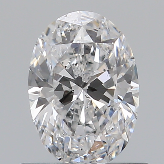 0.51 Carat Oval Loose Diamond, D, SI1, Ideal, GIA Certified