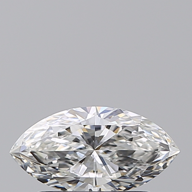 0.52 Carat Marquise Loose Diamond, F, SI1, Super Ideal, GIA Certified