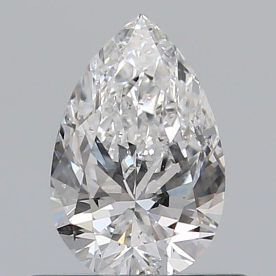0.43 Carat Pear Loose Diamond, E, SI2, Excellent, GIA Certified