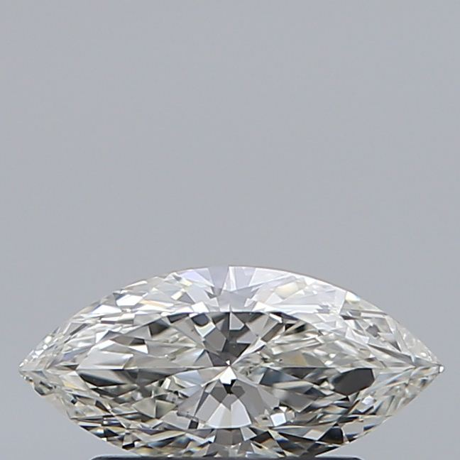 0.50 Carat Marquise Loose Diamond, H, IF, Super Ideal, GIA Certified