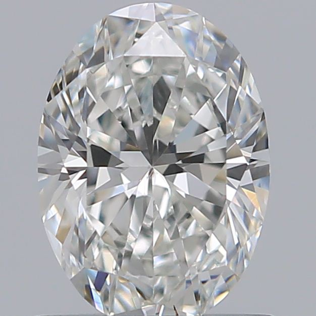 0.75 Carat Oval Loose Diamond, H, SI1, Super Ideal, GIA Certified