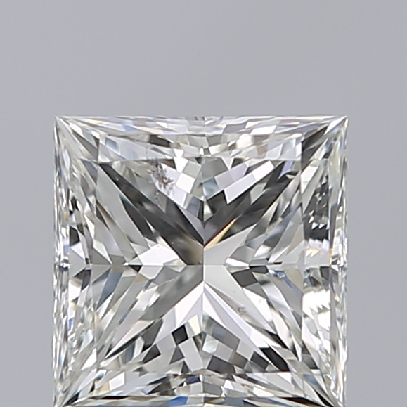 1.24 Carat Princess Loose Diamond, H, SI1, Ideal, GIA Certified