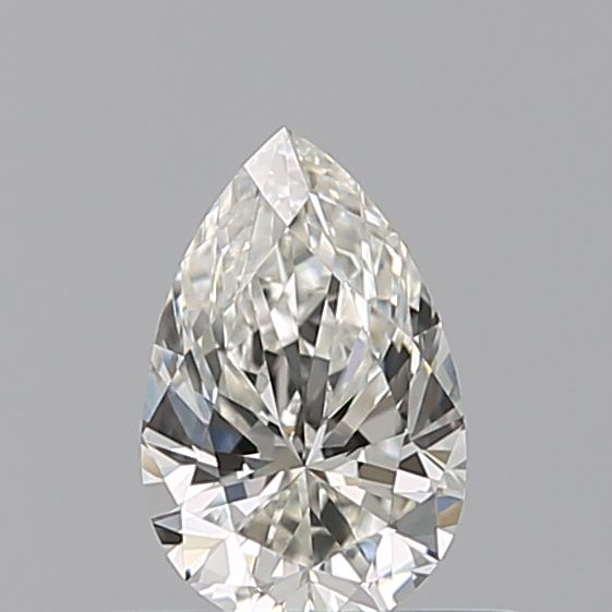 0.35 Carat Pear Loose Diamond, I, VVS2, Ideal, GIA Certified