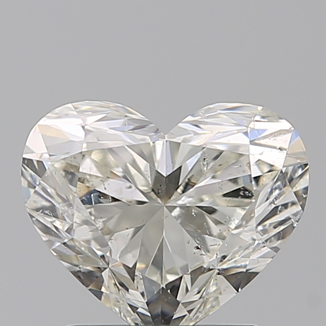 1.55 Carat Heart Loose Diamond, J, SI2, Super Ideal, GIA Certified